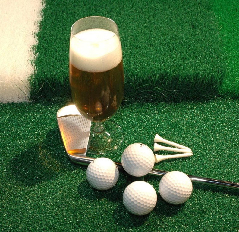 beer-and-golf