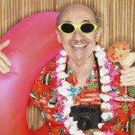 Senior Man Dressed for Vacation